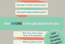 Get Home Private Tutions at Aimuno.com / Aimuno.com is one of the best online Private tutor website in India. We offers you to Connect with Experienced Educators & Tutors online in your nearby locality. Get confirmed class at your home.