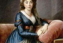 Rococo fashion - women's and bal masque