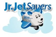Jr. JetSavers  / Wings offers Jr. JetSavers, a savings education and rewards program for kids ages birth to 12 years.