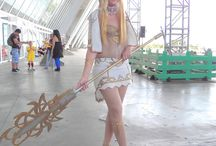 Female Light Elf Magician - Lineage II / Majestic Robe, lvl 61.  #elf #female #light #lineage #mage #videogame #cosplay #rydia