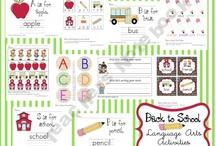 preschool back to school / by Charity James