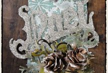 12 tags / Tim Holtz / by Linda Coen