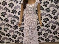 crochet weeding dress
