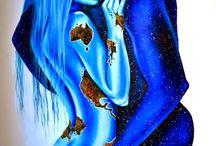 Pinturas de Lisete Alcalde | O pintor que toca o coração