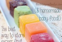 Summer Snacks / Summer treats and snacks for babies, toddlers and grown ups!
