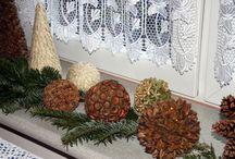 moje świąteczne ozdoby / Wszystkie dekoracje są zrobione przeze mnie.można je również znaleźć na stronie http://deccoria.pl/galeria,id,116298,1,swiateczny-czas-.html    marzena@studiomagnolia.pl