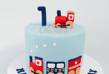 Advik bday cake