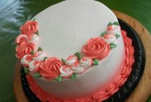 Simple girl cake