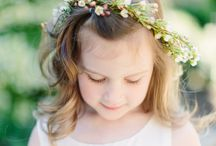 Flowergirls/ Ring boys / Cuteness is the aim of the day.