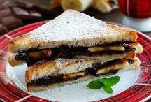 muzlu cikolatali tost