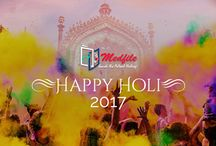Happy Holi / Wish you a very happy and colorful Holi!