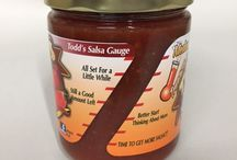 The Salsa Gauge / Be sure to check your jar gauge often. You don't want to run out!