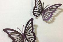 Butterfly cut