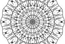 Mandalagaba Mandalas! / These are mandalas created with MandalaGaba we found on Pinterest.