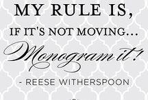 Monogram Obsessed
