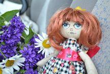 My doll-making / My hand-made. Мое куклотворчество.