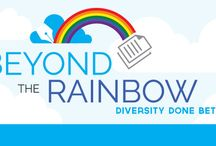 Writing Beyond the Rainbow / Pins to help you write with diversity and inclusiveness.