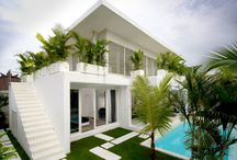 Minimalist house architecture / Minimalist style houses with modern and contemporary architecture and interior design