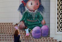Street Art - C -Pouliční umění, Grafiiti