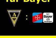 Spielflyer / Auf dieser Pinnwand werden die Flyer der jeweiligen Spieltage der Futsal Manschaft von Alemannia Aachen gepostet