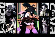 Artwork from comics and manga