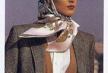 Шарфики, платочки / О том, как красиво дополнить свой образ