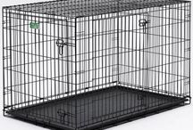 Dog Crates ♣ ActiveDogToys / We sell a wide variety of dog crates for your dog crating needs. Using a dog crate can be a critical training tool for puppies. Many of our dog crates come with dividers so that you can easily section off a part of the crate so that it can grow with your dog. What a great idea!