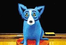Blue Dog / by Emma Fosnaugh