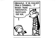Calvin & Hobbes / I'm a huge fan of Bill Watterson's comic strip. Here's to Calvin & Hobbes!