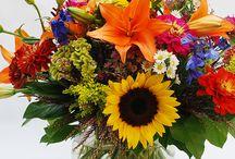 Summertime! / Cheerful flowers to celebrate and inspire this summer. https://www.norfolkflorist.com/flowers/summer-flowers-virginia-beach-va/