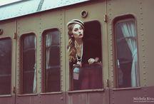Photo Concep - Train Station Vintage
