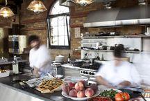 commercial kitchen/ restaurant