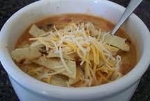 Soup/chili / by Shantila McG
