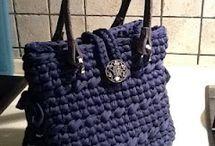 Borse bags purses  paper bag felter bag crochet bag hats / Lavori da fare