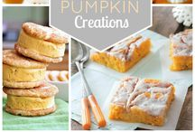 Fall Food Fantasies