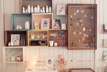 dainty display ideas / by Stevi Mahaffey