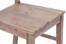 Elegant Wood Dining Chair Set