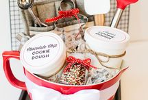 gift basket ideas / gift basket ideas for fund raisers, bridal showers, new home, baby showers, etc / by Micki Thompson