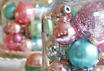 Vintage Christmas / pastel holiday decor