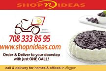 Shopnideas / Shopnideas offers Online cake delivery in Nagpur. Now order cake online in Nagpur with an ease of a click of your mobile or your computer