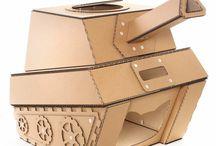 cat cardboard box ideas
