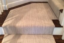 Stria Pattern Stair Runners / https://carpetworkroom.com Address: 39 Highland Circle, Needham MA 02494 Phone: (781) 844-4912 Email: info@thecarpetworkroom.com
