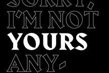 Typographizing / Typography