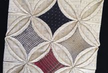 My homeworks for Akemi Shibata classes - Advance Level / Homeworks for hand sewing Patchwork and Quilting Classes by Akemi Shibata, Advance Level.
