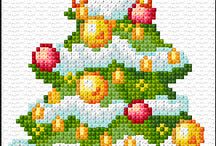 XStitch Christmas Cards
