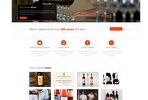 WINE TEMPLATES / Do you want to change your old website wiht new one? Here you can choose a very nice a practical wine templates.