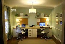 mini office two-person