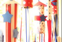 JULY 4th / Inspiring decorating and entertaining ideas for the 4th of July! #holiday #july4th