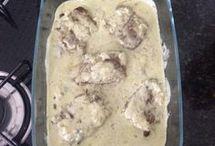carnes com molho