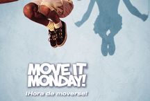 Move It Monday: En Español / Move It Monday Spanish posters - share anywhere you'd like.